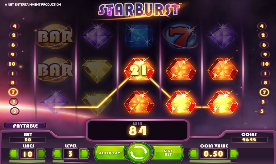 Starburst Normal Win