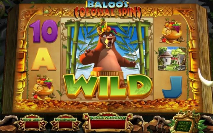 Jungle Jackpots Mowgli's Wild Adventure Slot Game