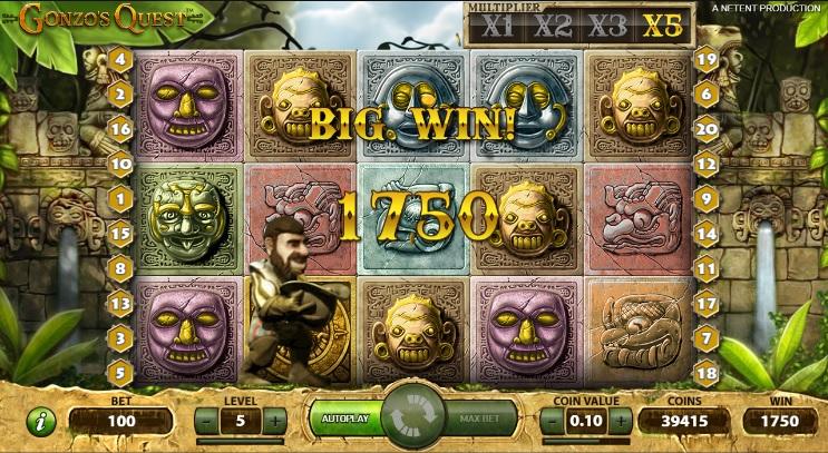 Gonzo's Quest Super Big Win