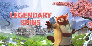 Legendary Spins Promo