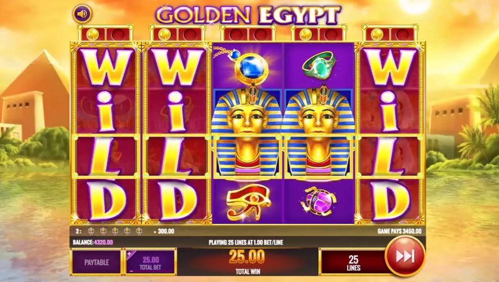 Gold Of Egypt Slot Machine