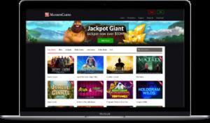mansion casino online lobby