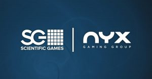 scientific games nyx gaming group merge