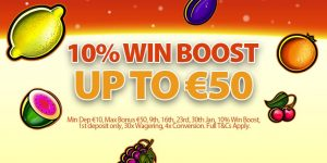 January Tuesday Win Boost Promotion