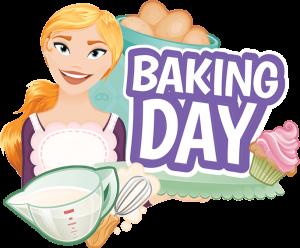 Baking Day Game Logo